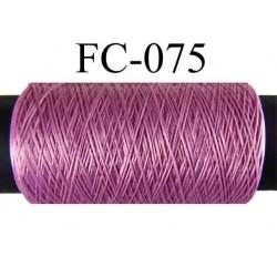 bobine de fil mousse polyamide couleur rose longueur 500 mètres fabriqué en France