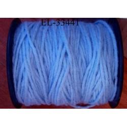 Echevette laine colbert couleur bleu ciel longueur de bobine 100 m soit 12 échevettes de 8 m canevas et tapisserie