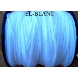 Echevette laine colbert couleur blanc longueur de bobine 100 m soit 12 échevettes de 8 m canevas et tapisserie