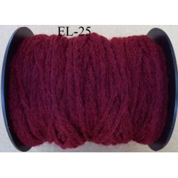 Echevette laine colbert couleur prune longueur de bobine 100 m soit 12 échevettes de 8 m canevas et tapisserie