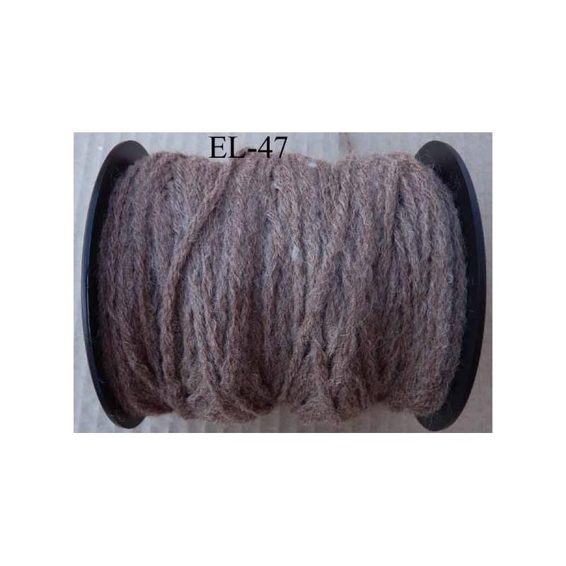 echevette laine colbert couleur marron glac longueur de bobine 100 m soit 12 chevettes de 8 m. Black Bedroom Furniture Sets. Home Design Ideas
