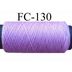 bobine de fil n° 120 polyester couleur parme lilas longueur de la bobine 500 mètres fabriqué en France
