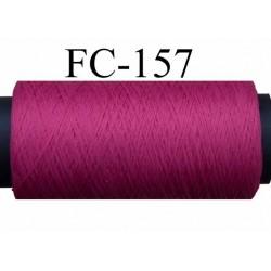 bobine de fil mousse polyamide couleur rose fushia longueur de la bobine 500 mètres fabriqué en France