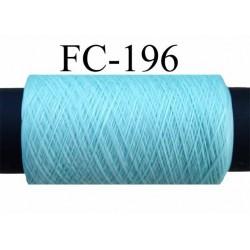 bobine de fil mousse polyamide FIL N° 100 couleur vert longueur de la bobine 500 mètres fabriqué en France