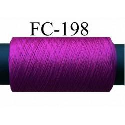 bobine de fil mousse polyamide couleur fushia foncé longueur de la bobine  500 mètres fabriqué en France