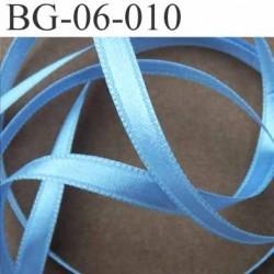 biais galon ruban satin brillant couleur bleu double face superbe largeur 6 mm prix au mètre