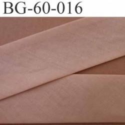 biais ruban galon a plat plié 60 +dix+dix mm en coton couleur beige chair largeur 6 cm plus 2 fois dix mm prix au mètre