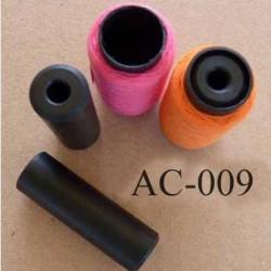 un centreur de bobine pour axe de 6 mm votre bobine est impeccablement calée dans l'axe de votre machine à coudre ou surjeteuse