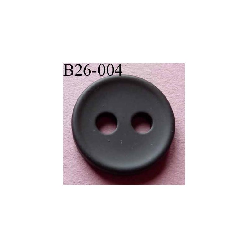 bouton 26 mm couleur prune fonc 2 gros trous diam tre 5 mm paisseur 4 mm mercerie extra. Black Bedroom Furniture Sets. Home Design Ideas