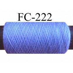 bobine de fil n° 120 polyester couleur parme longueur de la bobine 500 mètres bobiné en France