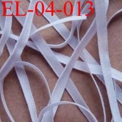 élastique plat et fin polyamide élasthane largeur 4 mm couleur parme violine prix au mètre
