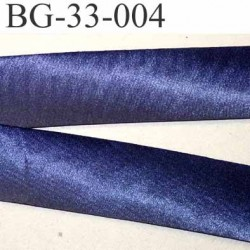 biais galon ruban satin couleur bleu violet brillant largeur 33 mm prix au mètre