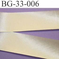 biais galon ruban satin couleur ivoire brillant largeur 33 mm prix au mètre