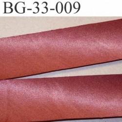 biais galon ruban satin couleur vieux rose brillant largeur 33 mm prix au mètre