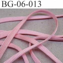 gallon cordon ruban a plat largeur 6 mm épaisseur 1.3 mm couleur rose lumineux très solide prix au mètre