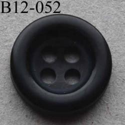 bouton diamètre 12 mm 4 trous couleur marine diamètre 12 mm