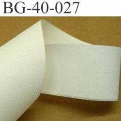 sangle fine ruban renfort  ganse plat 100% coton couleur écru largeur 3 cm épaisseur 0.5 mm  très solide prix au mètre