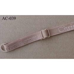 bretelle réglable gauche de soutien gorge CHRISTIAN LACROIX longueur 33 cm largeur 10 mm chair haut de gamme