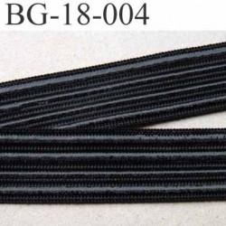 galon ruban anti glisse plusieurs bandes de silicone non extensible  largeur 18 mm  couleur noir prix au mètre