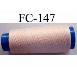 cone de fil mousse polyamide fil n°120 couleur chair peau longueur du cone 1000 mètres bobiné en France