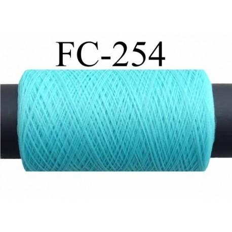 bobine de fil mousse textur polyester fil n 160 couleur vert bleu lagon longueur 500 m tres. Black Bedroom Furniture Sets. Home Design Ideas