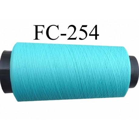 cone de fil mousse textur polyester fil n 160 couleur vert bleu lagon longueur 5000 m tres. Black Bedroom Furniture Sets. Home Design Ideas