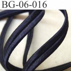 galon magnifique superbe largeur 6 mm couleur bleu tirant sur le violet satiné doux au touché style façon cuir prix au mètre
