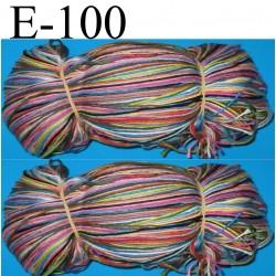 le lot de 100 échevettes retors mat 100% coton article 89 n° 4.