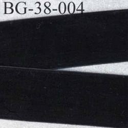 biais galon ruban en velour couleur noir très beau et souple et doux largeur 38 mm prix au mètre
