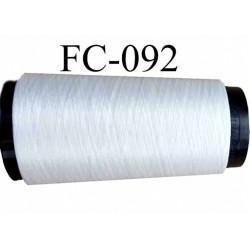 Cone de fil de soie superbe qualité couleur naturel longueur 1000 mètres bobiné en France