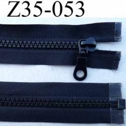 fermeture zip à glissière longueur 35 cm couleur noir séparable largeur 3.3 cm glissière zip moulé nylon largeur du zip 6 mm
