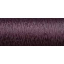 ( Déstockage ) Cone de fil mousse texturé polyester fil n°160 couleur marron  longueur  2000 mètres fabriqué en France