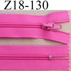 Fermeture Zip De Marque A Glissiere Longueur 18 Cm Couleur Rose