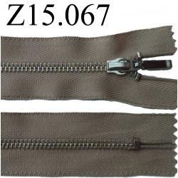 fermeture éclair 15 cm couleur rose zip nylon non séparable