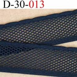 dentelle élastique  galon couleur noir largeur 30 mm élasticité 40 % prix au mètre