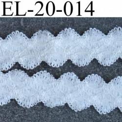 élastique picot dentelle couleur écru très très beau souple et doux largeur 20 mm prix au mètres