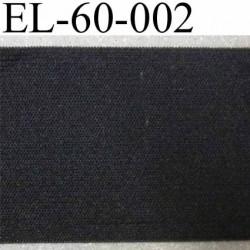 élastique a plat largeur 60 mm couleur noir souple belle qualité prix au mètre
