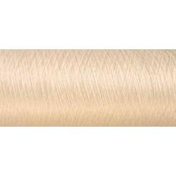 Déstockage CONE de fil mousse polyamide fil fin n° 180  couleur beige clair  longueur de 2000 mètres bobiné en France
