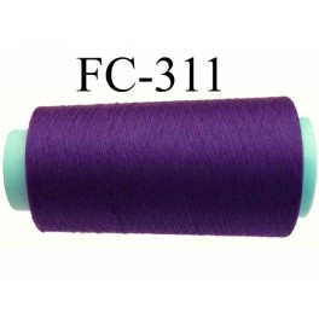 cone economique de fil polyester fil n 120 couleur violet fonc longueur 2000 m tres bobin. Black Bedroom Furniture Sets. Home Design Ideas