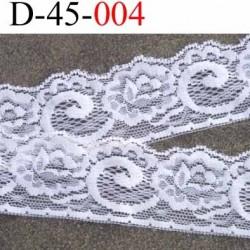 dentelle crochet en coton largeur 40 mm couleur écru provient d'une ancienne mercerie parisienne vendue au mètre