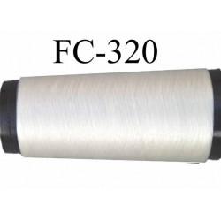 CONE de fil invisible polyamide 145 deniers couleur invisible  longueur de 1000 mètres bobiné en France