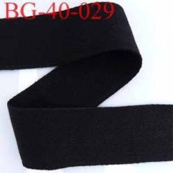 biais sergé 100 % coton superbe souple et doux galon ruban couleur noir largeur 40 mm vendu au mètre