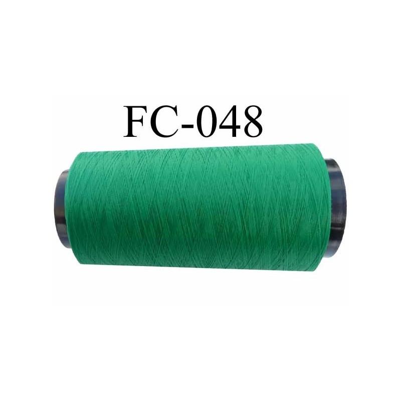 cone de fil mousse polyester textur fil n 120 couleur vert cone de 5000 m tres bobin en. Black Bedroom Furniture Sets. Home Design Ideas