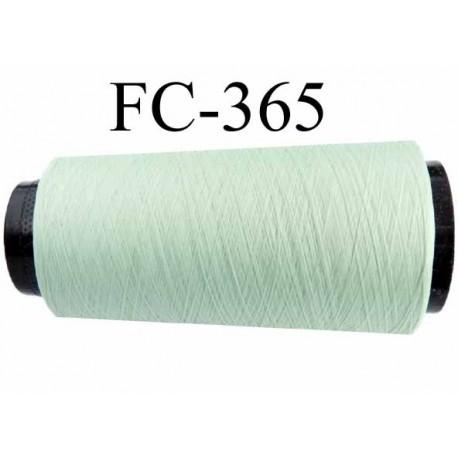 cone de fil mousse polyester fil n 120 couleur vert longueur 2000 m tres bobin en france. Black Bedroom Furniture Sets. Home Design Ideas