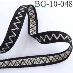biais galon ruban couleur noir et blanc souple très solide et joli superbe largeur 10 mm prix au mètre